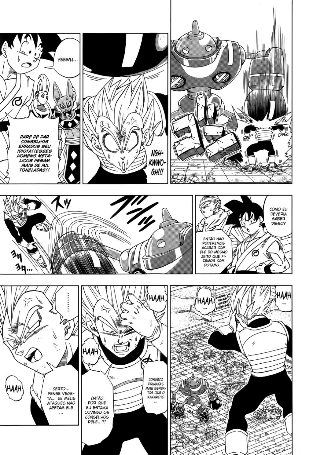 Faz sentido os Fans de Animes Falarem que se Personagem Fraco Vencer Alguém que destrói uma Montanha ele Também destrói uma Montanha? Vegeta11
