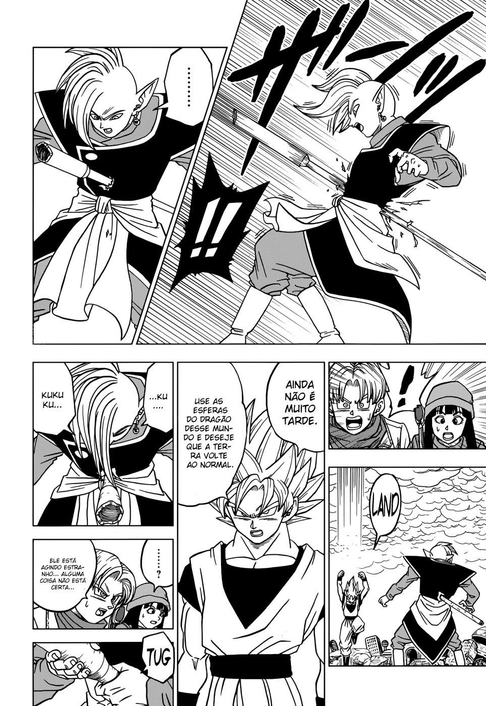 Faz sentido os Fans de Animes Falarem que se Personagem Fraco Vencer Alguém que destrói uma Montanha ele Também destrói uma Montanha? Zamasu12