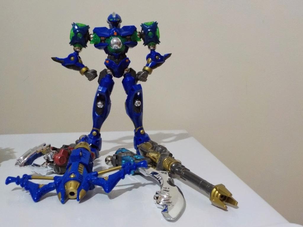 LOTTO con Jeeg Robot (Z-Pro 01) + Takara Robotman + Jenova M9 Takara16