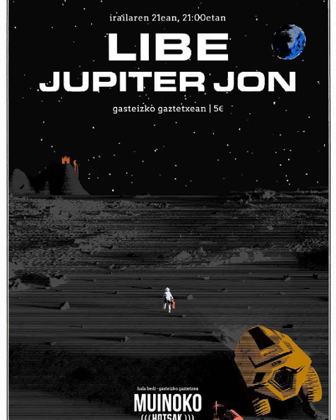 Agenda de giras, conciertos y festivales Jupite11