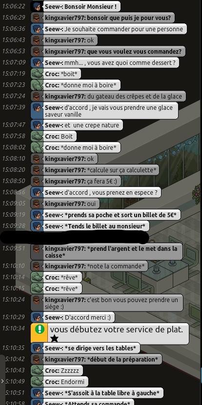 [R.] Rapports d'actions RP de kingxavier797  Bandic24