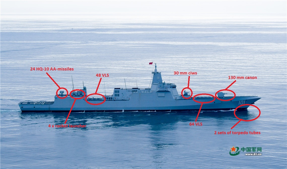 Type-055 DDG Large Destroyer Thread - Page 4 309c2310