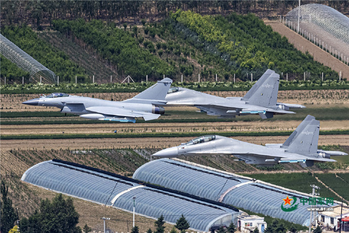 PLA Air Force General News Thread: - Page 13 J10j1111