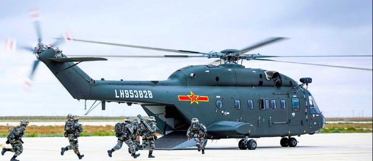 Harbin Z-20 helicopter  Z-1810