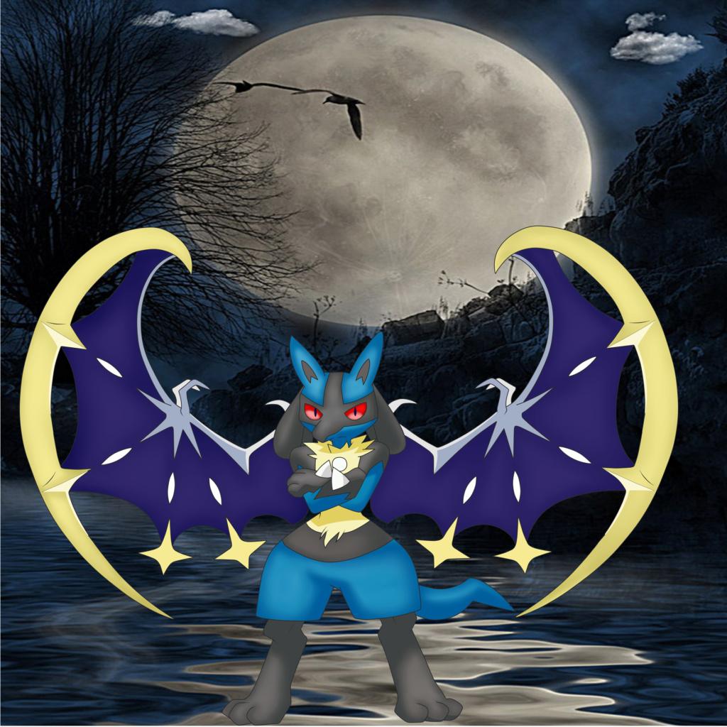 lucario nocturno xD Lunari10