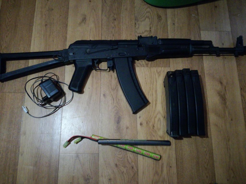 Vente : ak-74 dboys ( 90€ négociable et remise en main propre uniquement ) 15359810