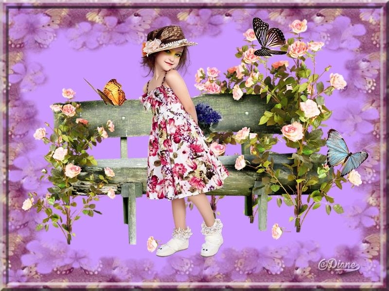 Défi fillette bouquet Sans_186