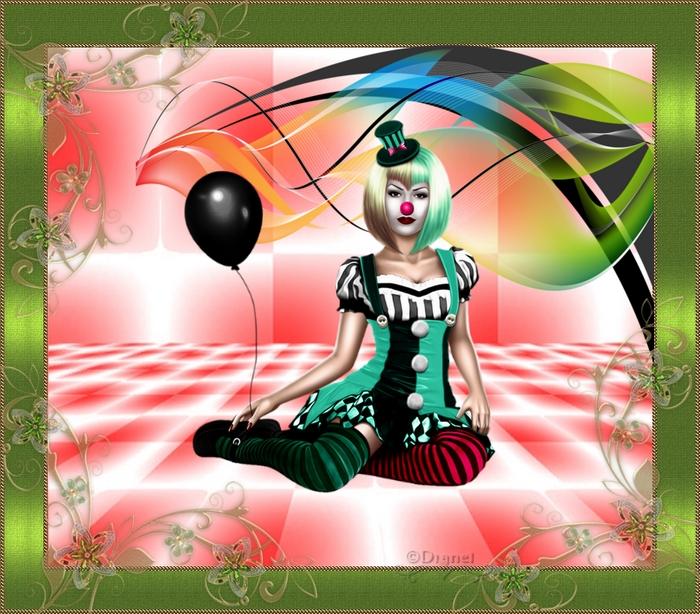 Défi du 11-12 Novembre / Femme clown Sans_574