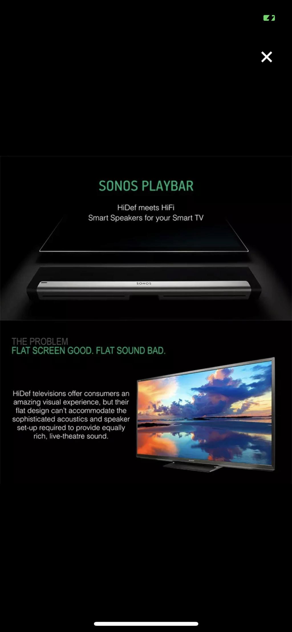 Brand New Sonos Playbar RM4099 Img_8412