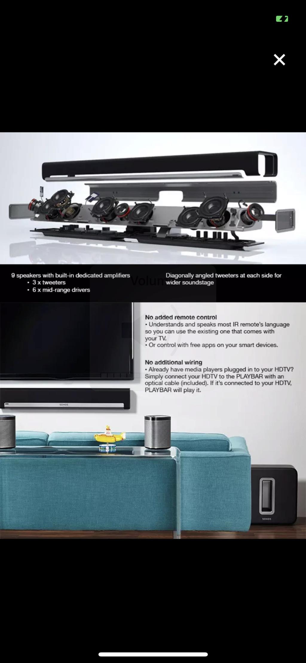 Brand New Sonos Playbar RM4099 Img_8413
