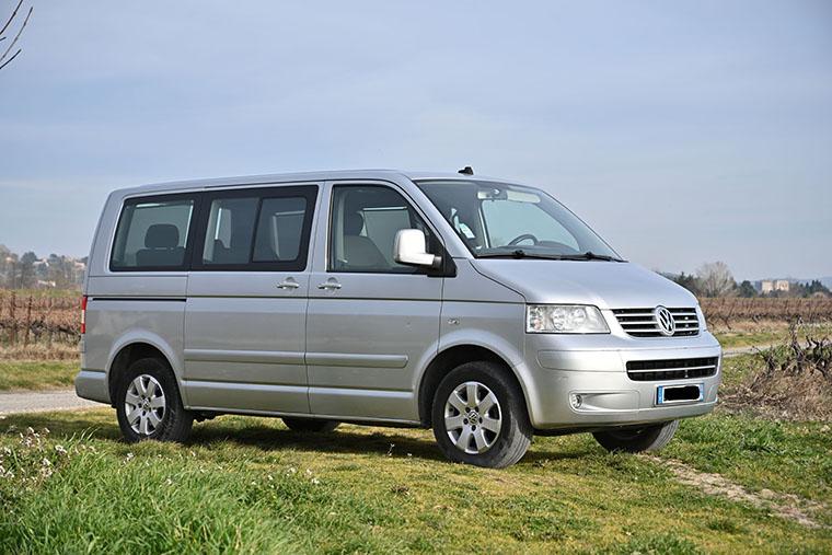 Vente Multivan T5 2,5 TDi 130  CONFORT 2007 - 261 000 km - VENDU 0110