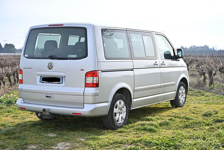 Vente Multivan T5 2,5 TDi 130  CONFORT 2007 - 261 000 km - VENDU 0210