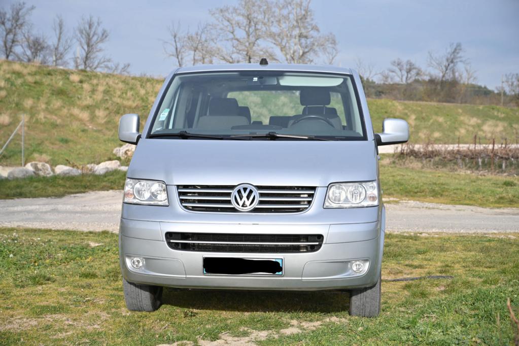 Vente Multivan T5 2,5 TDi 130  CONFORT 2007 - 261 000 km - VENDU Fm2_4211