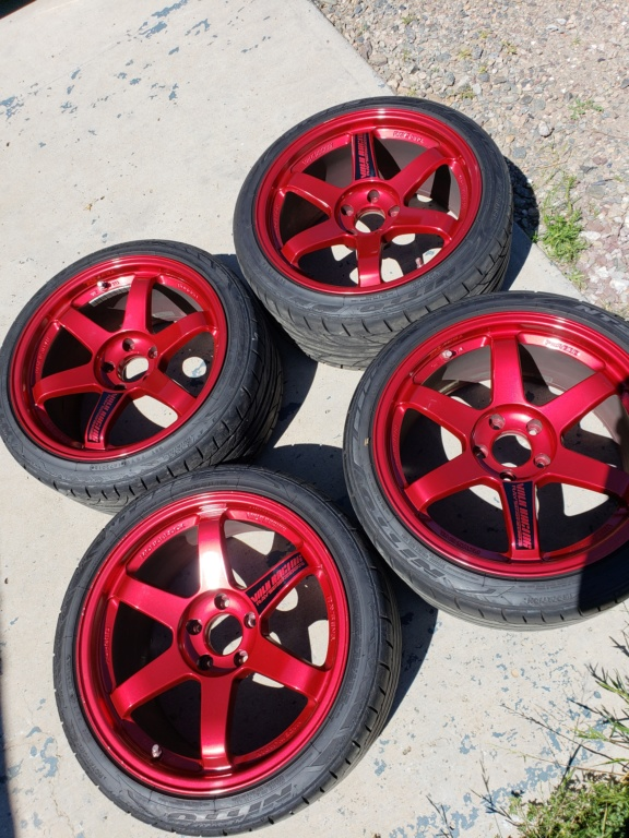 Hyper Red Volk Racing TE37SL 20180910