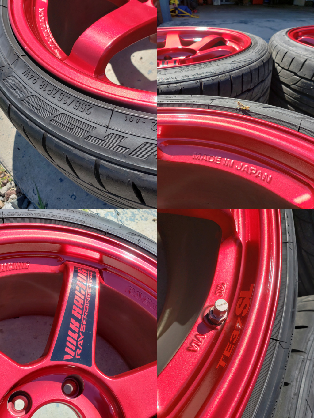 Hyper Red Volk Racing TE37SL Inshot10