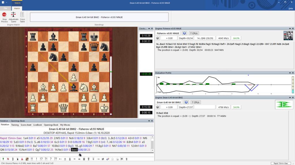 Fischerov Chess Engine NNUE Avan10