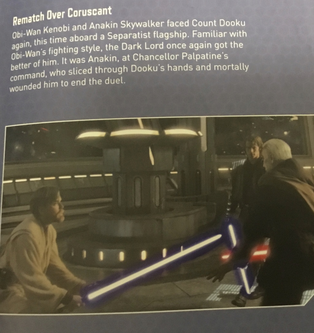 Obi Wan vs Count Dooku-Obi Wan lost because Dooku was familiar with his form - Page 2 8b1a6f10