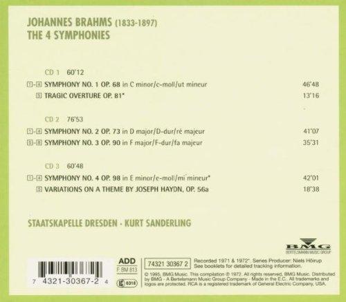 Consejos sobre una versión de las sinfonias de Brahms 32cfd510