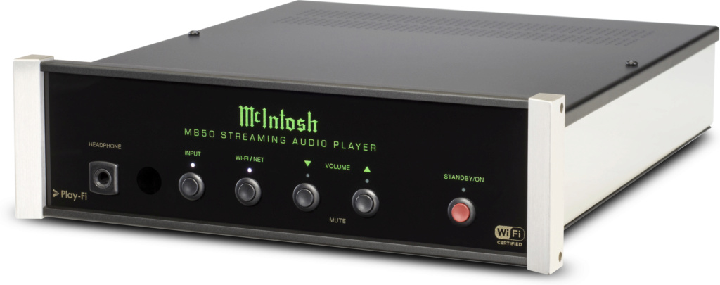 MCINTOSH MB50 STREAMING AUDIO PLAYER F0162910