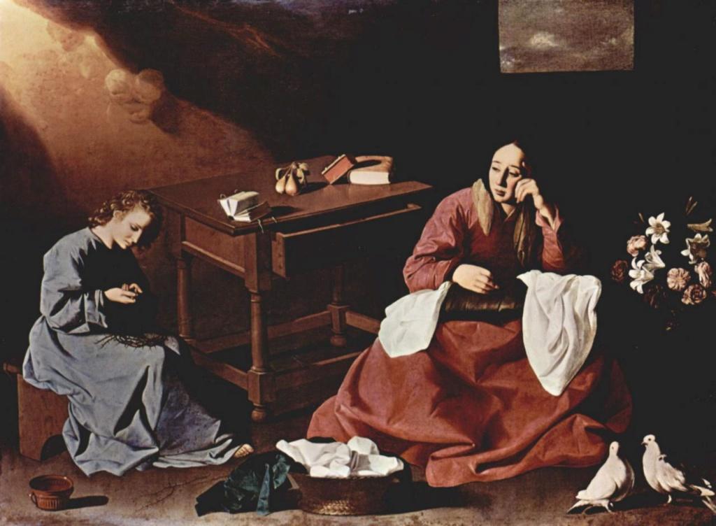 Marie, mère du Christ - Page 4 Zurbar10