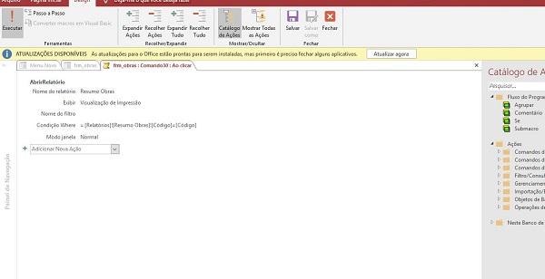 Erro ao filtrar um relatório a partir de campo de formulário. Where_10