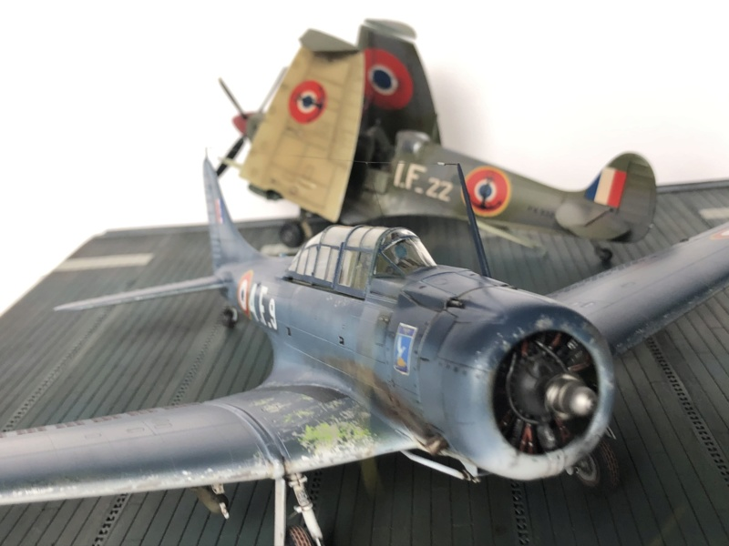SBD Dauntless en Indochine - Flotille  4F  28778e10