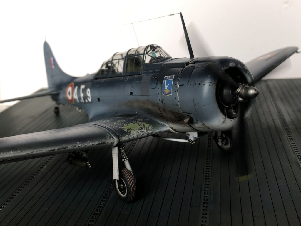 SBD Dauntless en Indochine - Flotille  4F  30beab10