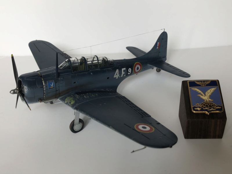 SBD Dauntless en Indochine - Flotille  4F  4ed8b410