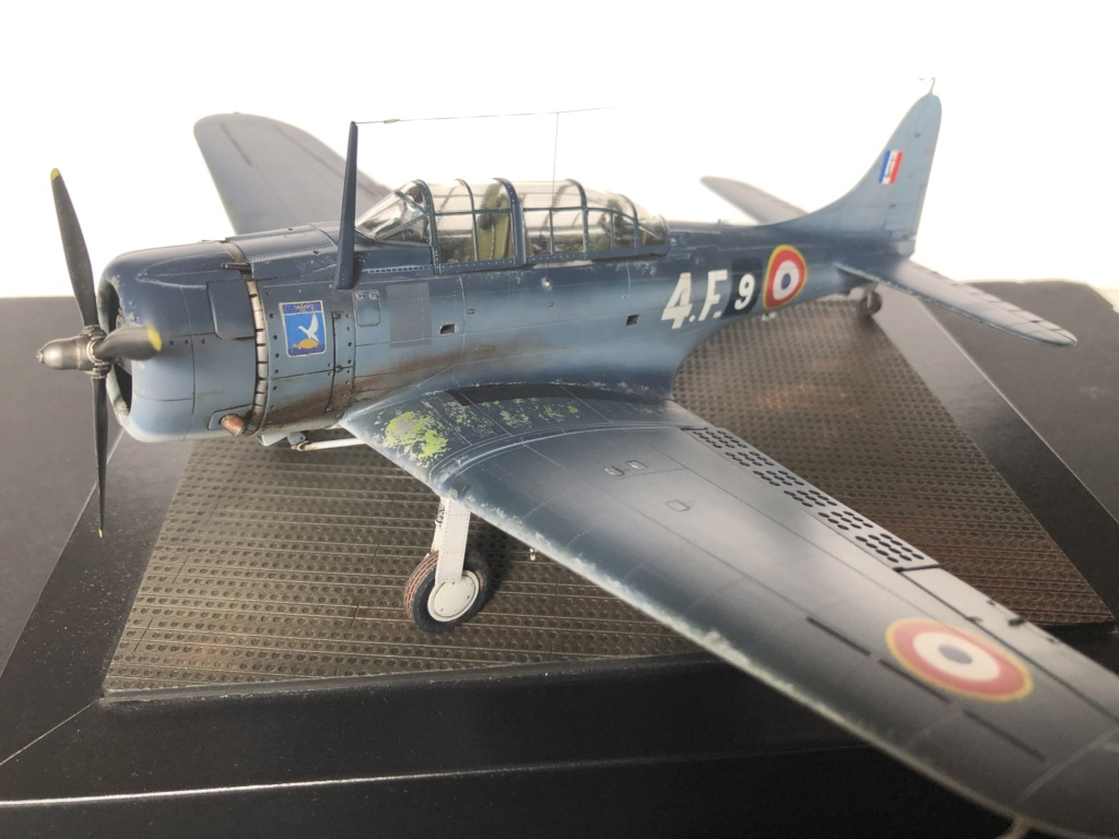 SBD Dauntless en Indochine - Flotille  4F  D73b8b10