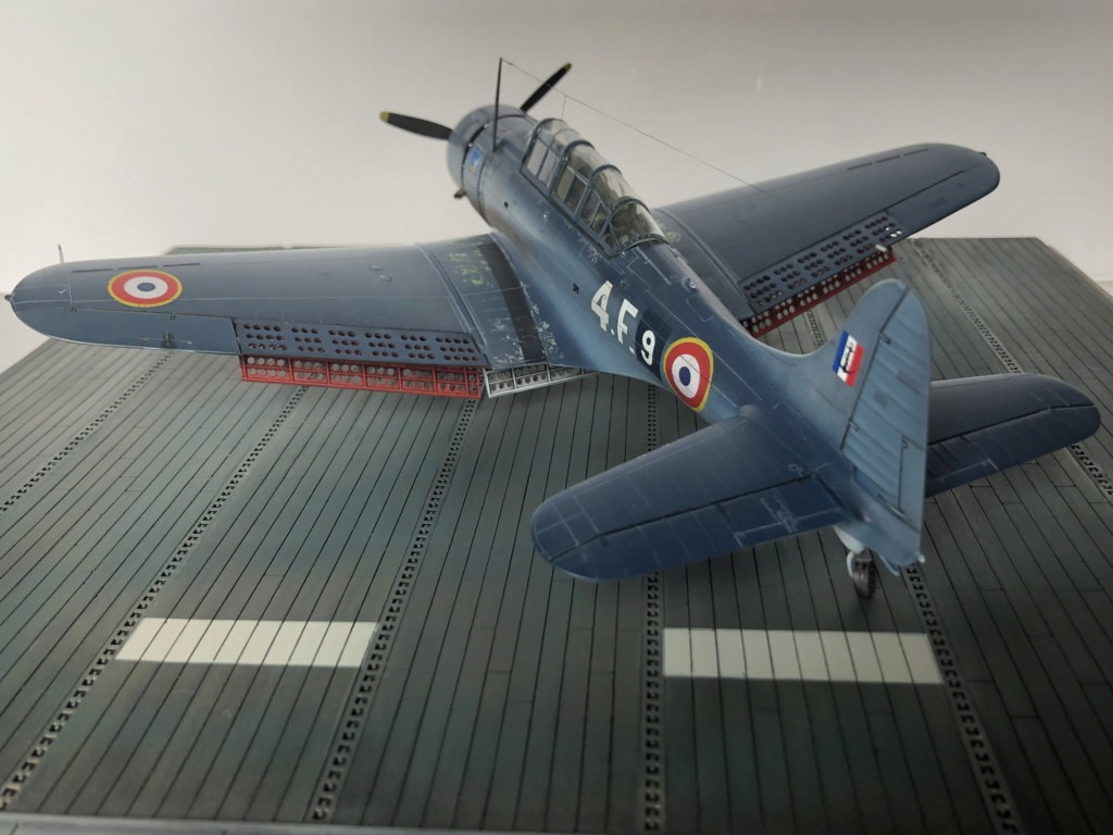 SBD Dauntless en Indochine - Flotille  4F  F0e81310