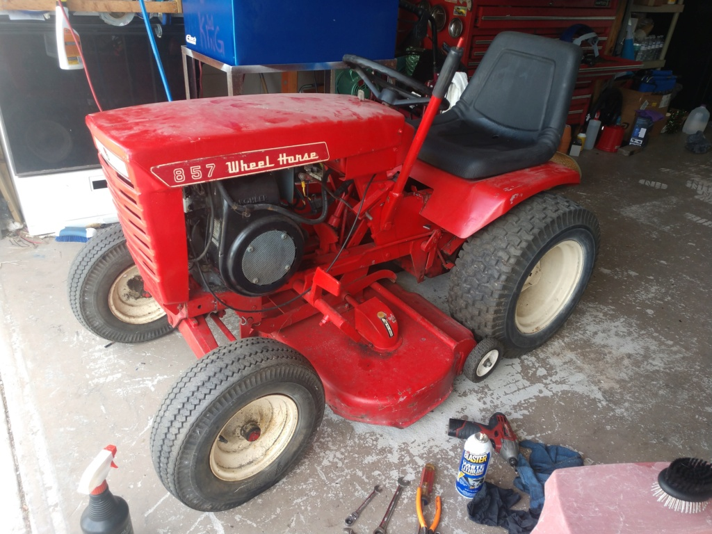 Wheel Horse 857 new project Img_2094