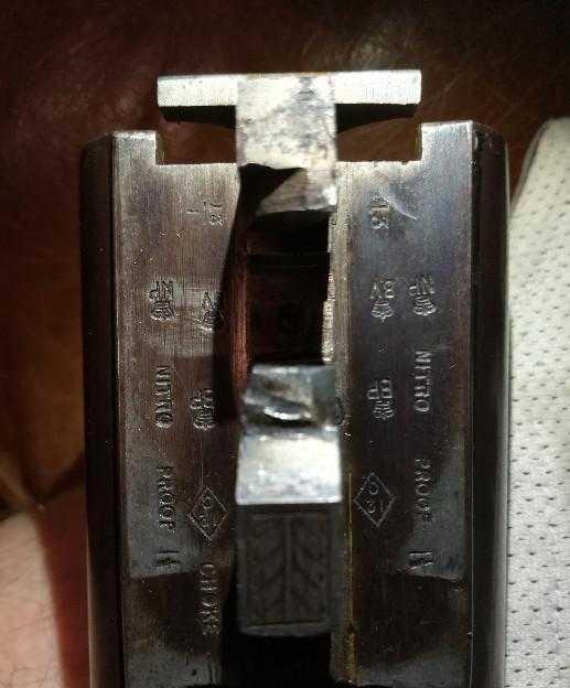 Canon piqué : vieux fusil juxtaposé anglais Img_2010