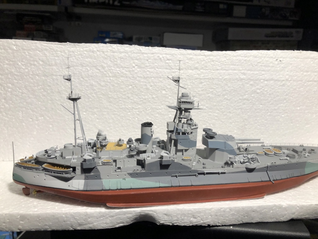 HMS Abercrombie Monitor - 1/350 Trumpeter - Eric78 - Page 2 13b36d10