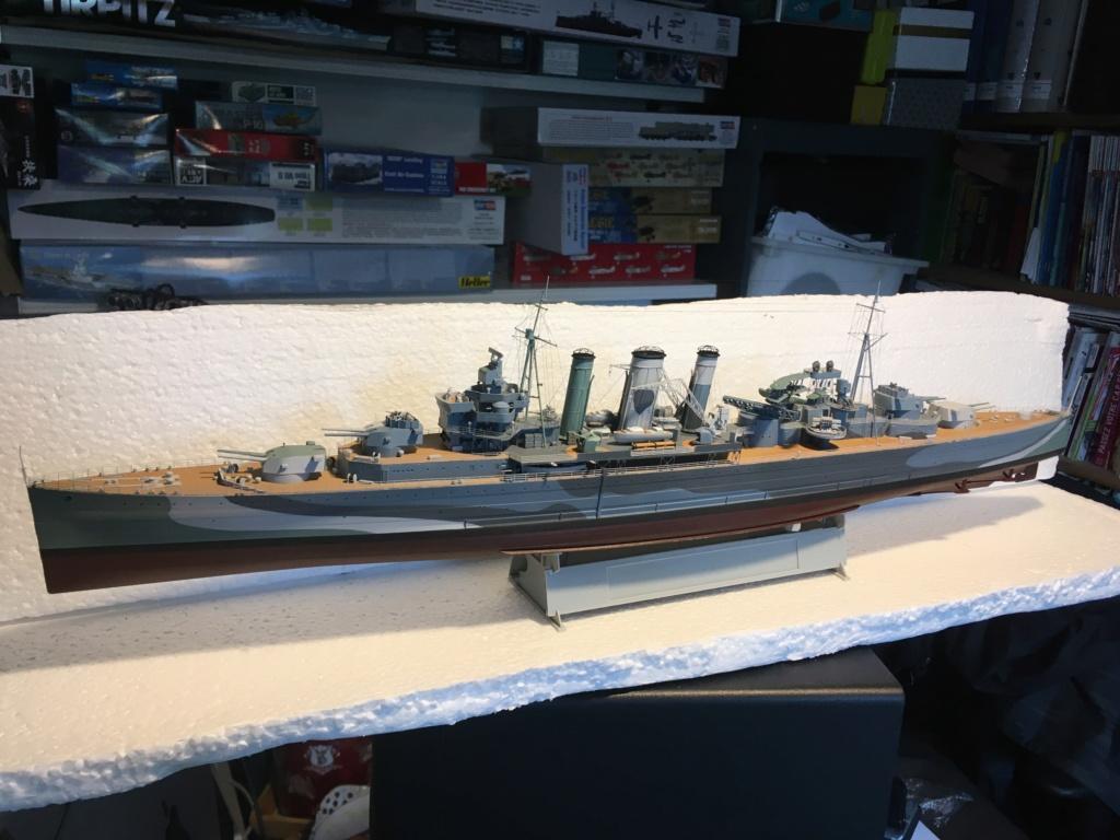 Croiseur lourd HMS Kent - 1/350 - Trumpeter - Eric78 - Page 3 1a5f8f10