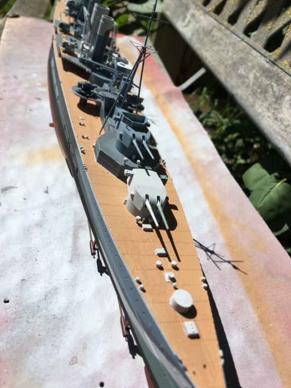 Croiseur lourd HMS Kent - 1/350 - Trumpeter - Eric78 - Page 2 24521c10