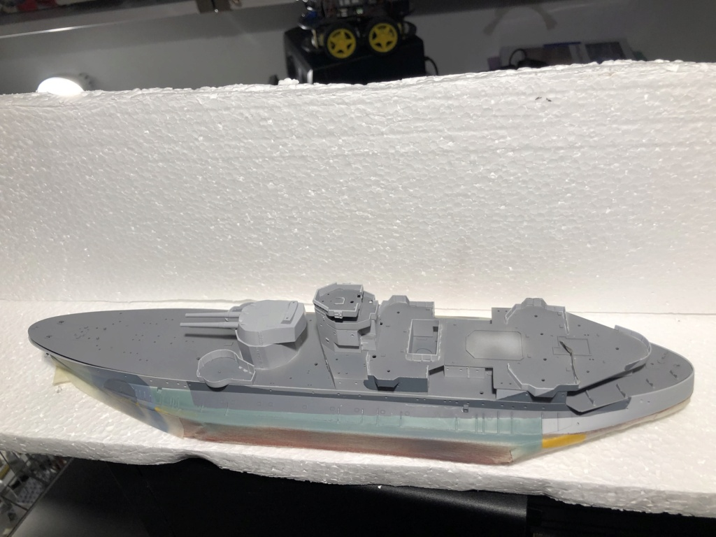 HMS Abercrombie Monitor - 1/350 Trumpeter - Eric78 2d707610