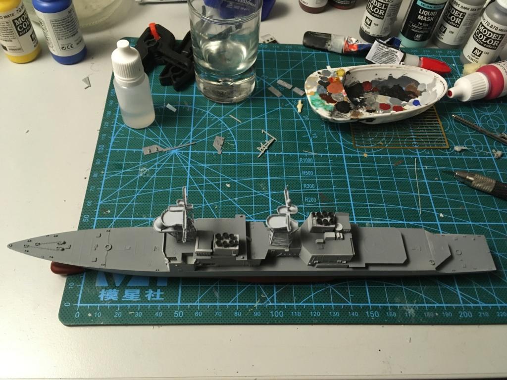 Destroyer USS Spruance DD963 - 1/700 Dragon  33724f10