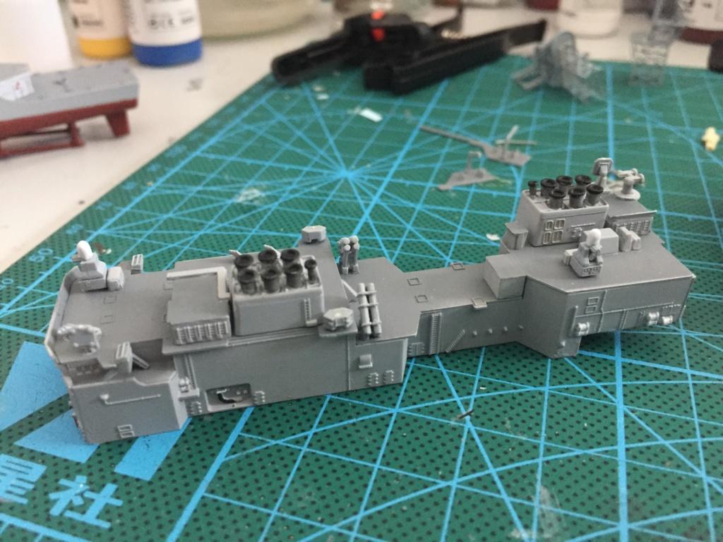 Destroyer USS Spruance DD963 - 1/700 Dragon  3478d310