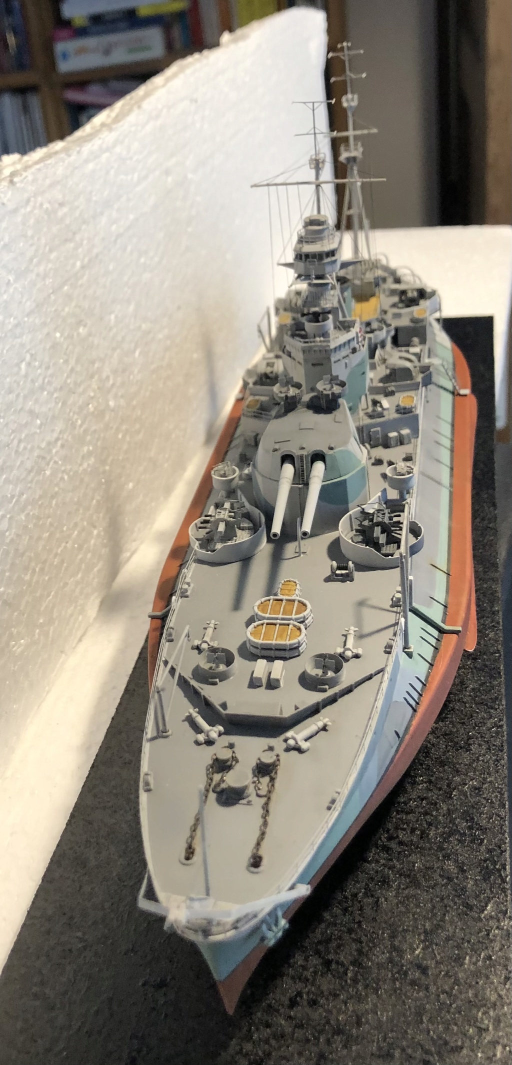 HMS Abercrombie Monitor - 1/350 Trumpeter - Eric78 - Page 3 3518c310