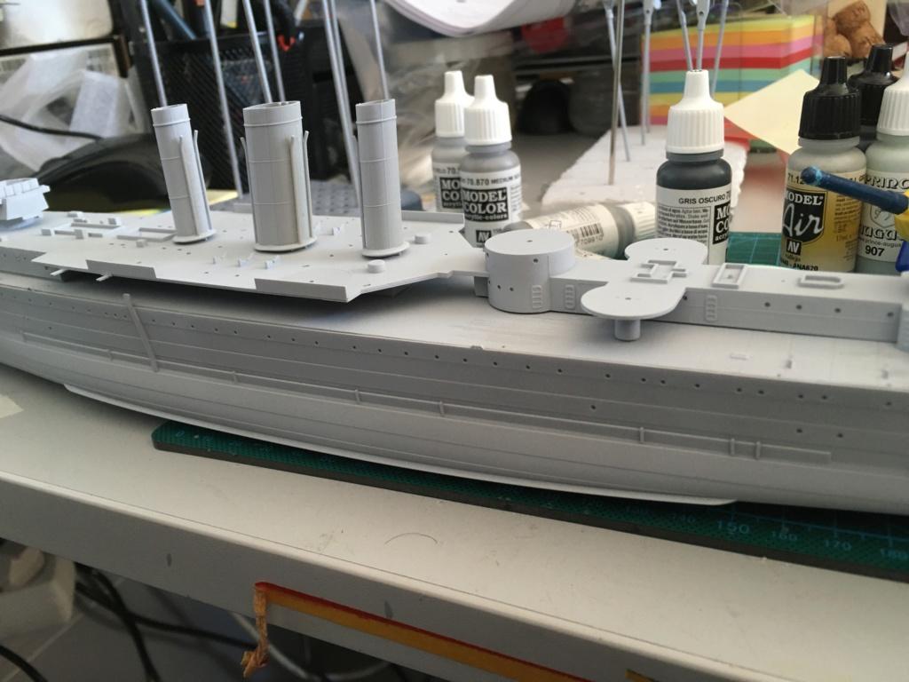 Croiseur lourd HMS Kent - 1/350 - Trumpeter - Eric78 3ba98010