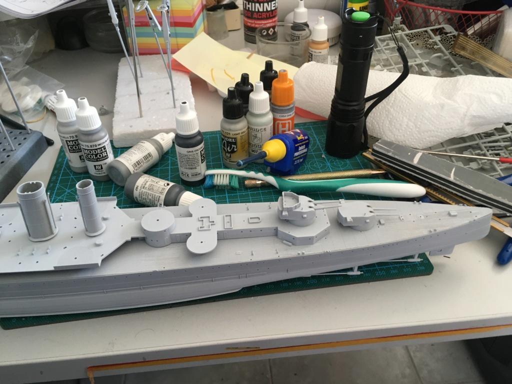 Croiseur lourd HMS Kent - 1/350 - Trumpeter - Eric78 3fc7f110