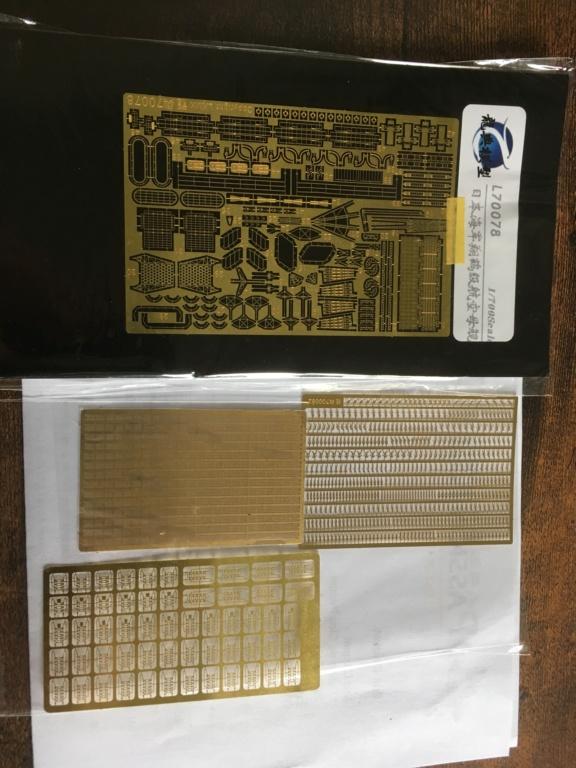 Ouverture boite Zuikaku 1/700 Fujimi  42992110
