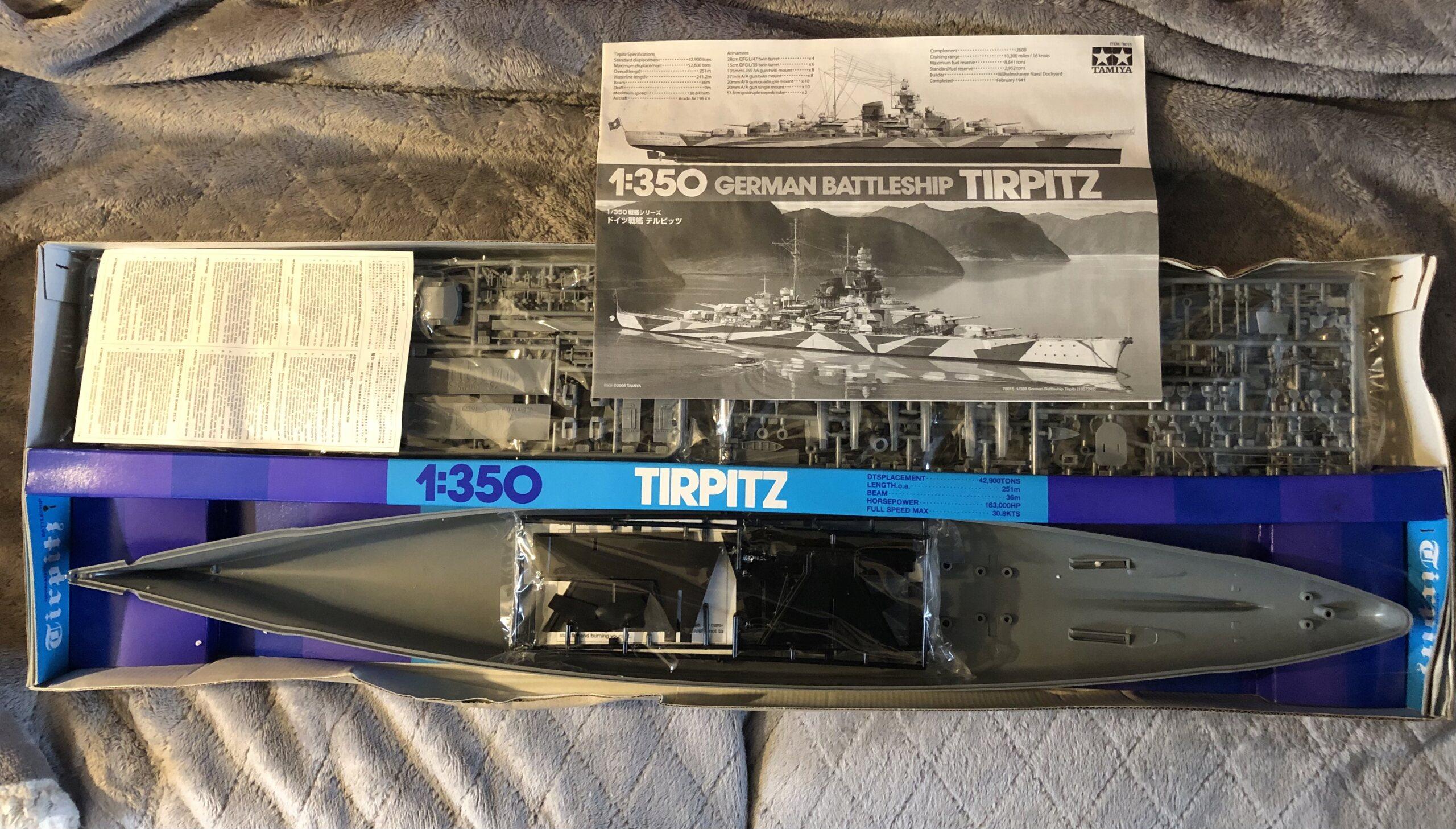 Tirpitz 1/350 Tamiya + eduard - Eric78 4c30bf10