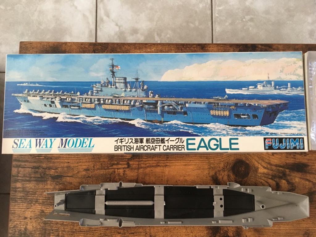Ouverture boite British Aircraft Carrier EAGLE - 1/700 Fujimi  4cb14110