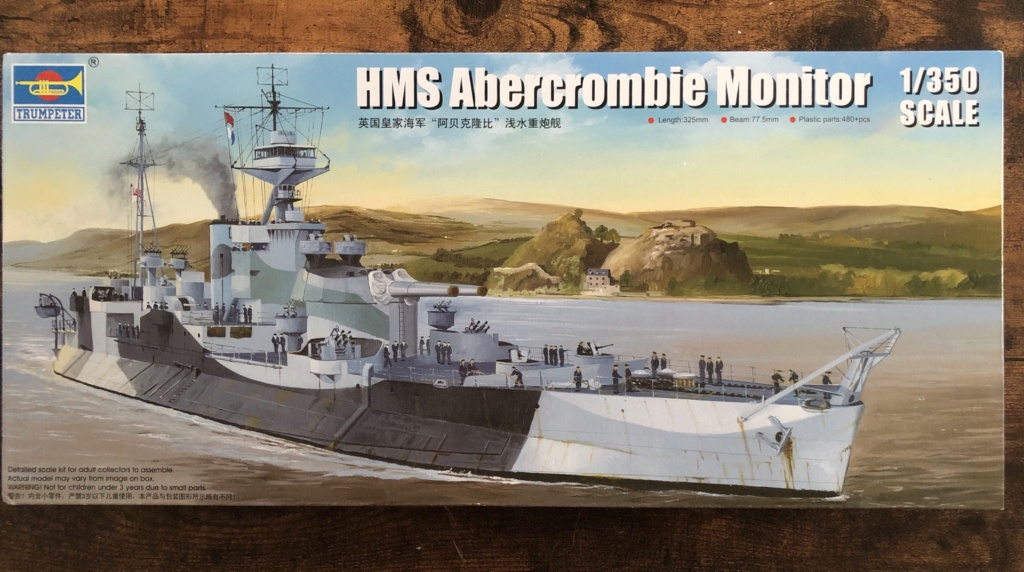 HMS Abercrombie Monitor - 1/350 Trumpeter - Eric78 52ad3d10