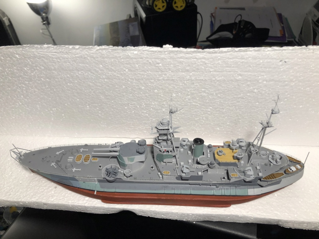 HMS Abercrombie Monitor - 1/350 Trumpeter - Eric78 - Page 2 65aeac10