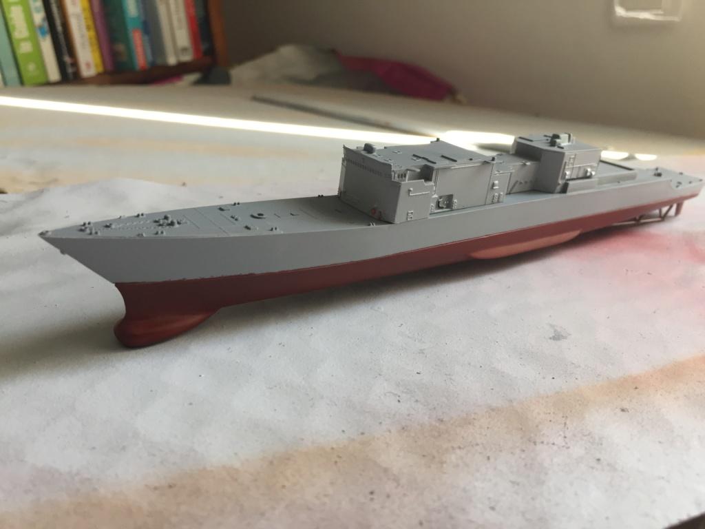 Destroyer USS Spruance DD963 - 1/700 Dragon  6706b110
