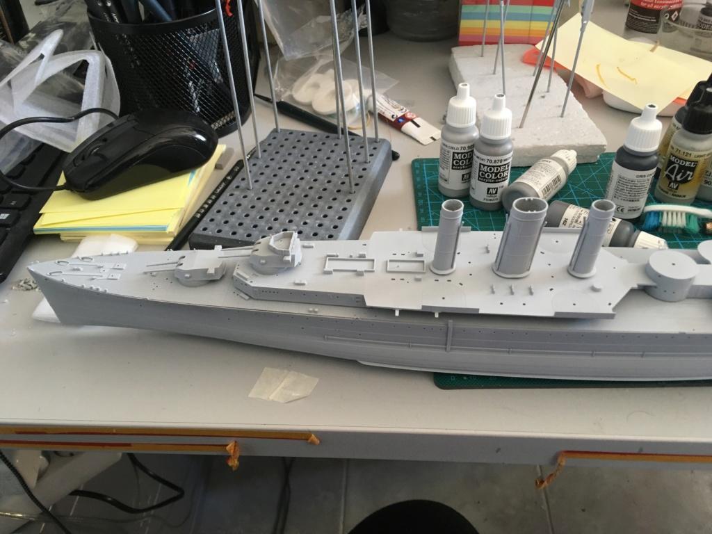 Croiseur lourd HMS Kent - 1/350 - Trumpeter - Eric78 68866010