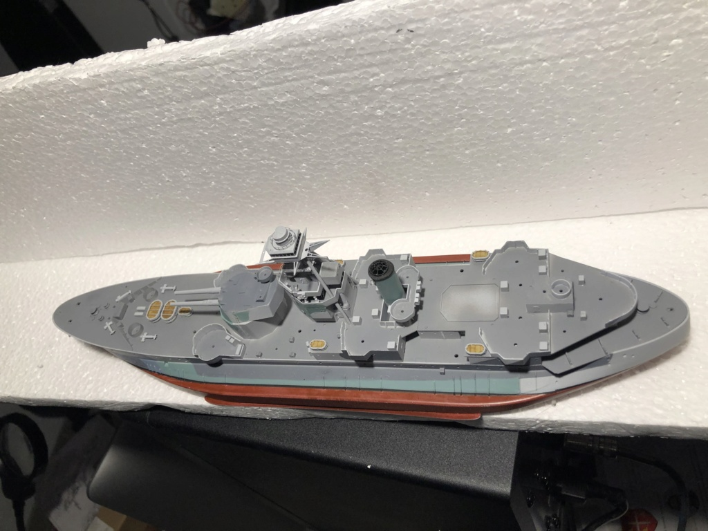 HMS Abercrombie Monitor - 1/350 Trumpeter - Eric78 - Page 2 68bcce10