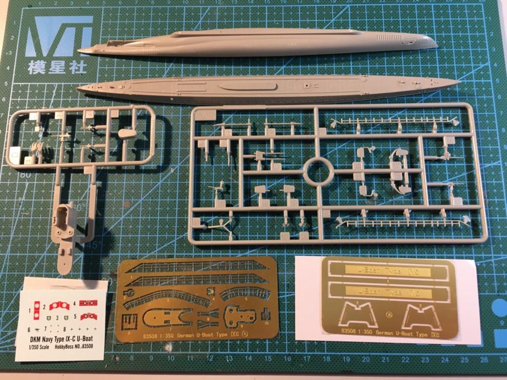 U-Boat Type IX - Hobbyboss 1/350 6df04610